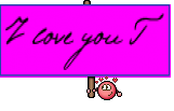 I love you T