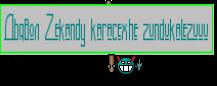 Дьявол Zekandy karacexhe zundukalezuuu