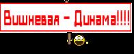 Вишневая - Динама!!!!