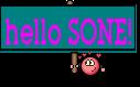hello SONE!