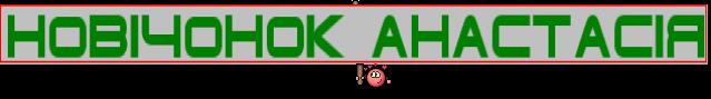 Новічонок Анастасія