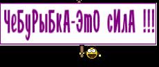 ЧеБуРыБкА-ЭтО сИлА !!!