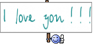 I   love   you  !  !  !