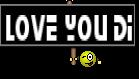 Love you di