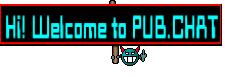 Hi! Welcome to PUB.CHAT