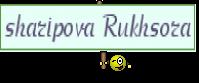 sharipova Rukhsora