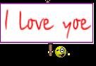 I love yoe