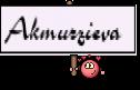 Akmurzieva