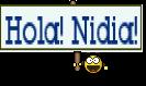 Hola! Nidia!