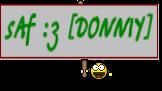 sAf :з [DONNIY]