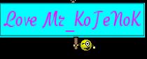 Love Mr_KoTeNoK