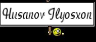 Husanov Ilyosxon