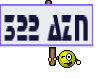 322 AZN