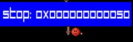 STOP: 0x000000000050