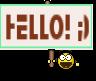 HELLO! ;)
