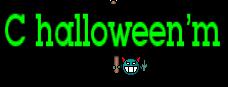 С halloween'm