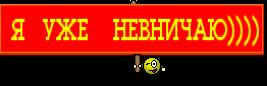 Я   УЖЕ    НЕВНИЧАЮ))))