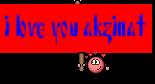 i love you akzinat