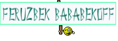 Feruzbek Bababekoff