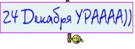 24 Декабря УРАААА))
